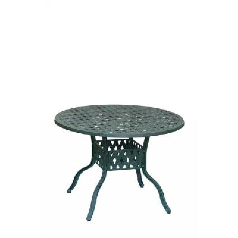 Inko Aluguss Tisch Nexus Grün rund 106 cm 201-G online bestellen