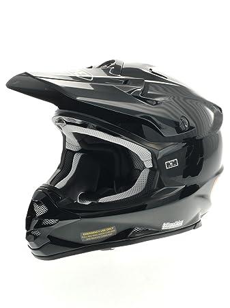 Nouveau casque de moto noir de Shoei VFX-W plaine