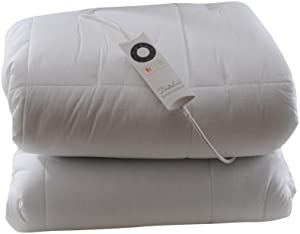 Sleepwell Luxury 100 Percent Cotton Single Heated Duvet with Intelliheat Technology       review and more information