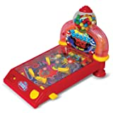 Dubble Bubble Arcade Pinball Machine and Bubble Gum Dispenser DB100P (Color: Red)