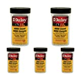 Daisy 980040-446 .177 Caliber BB's, 4.5-Milimeter, 4000-Count, Silver 5 Pack (Color: 5 Pack (Silver))