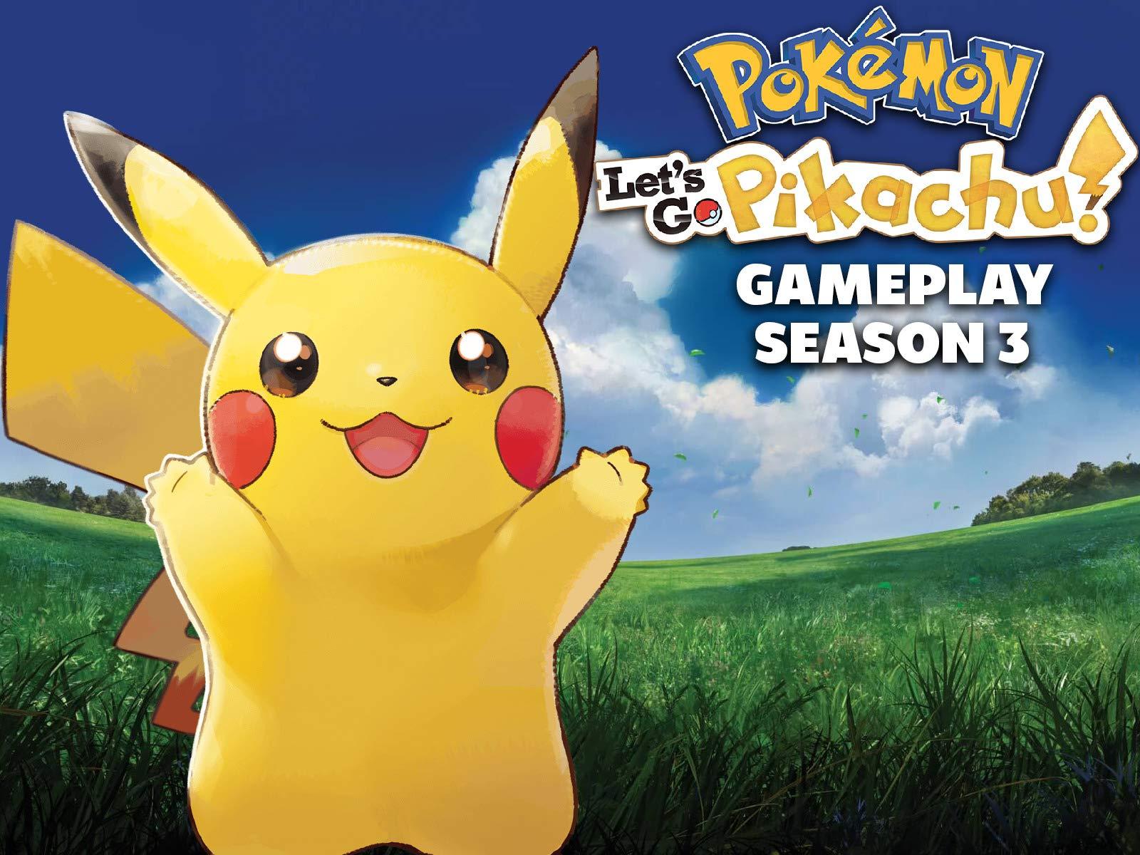 Watch Pokemon Let S Go Pikachu Gameplay On Amazon Prime Video Uk