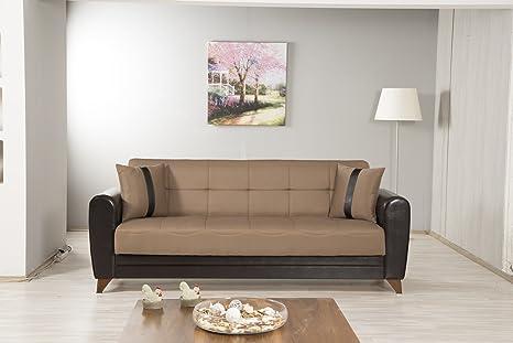 Bella Vista Sofa bed | Prusa Brown