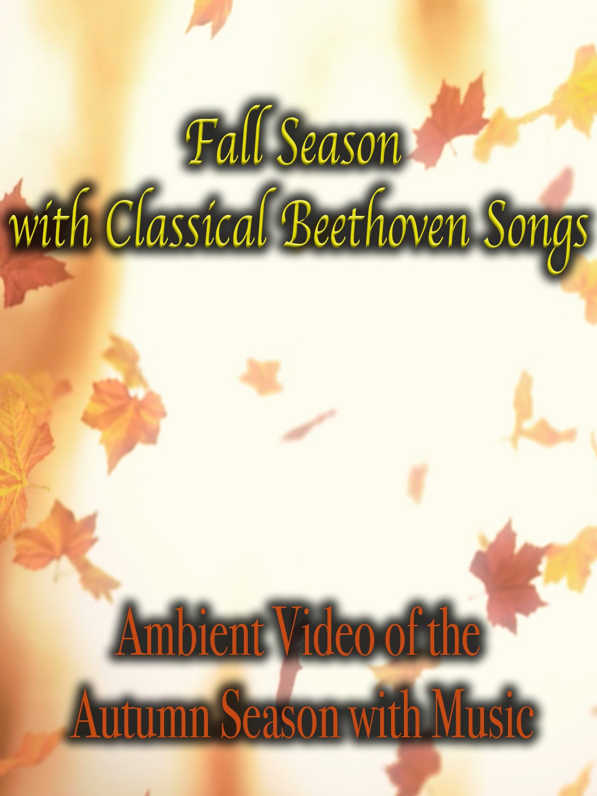 Fall Season with Classical Beethoven Songs Ambient Video of the Autumn Season with Music