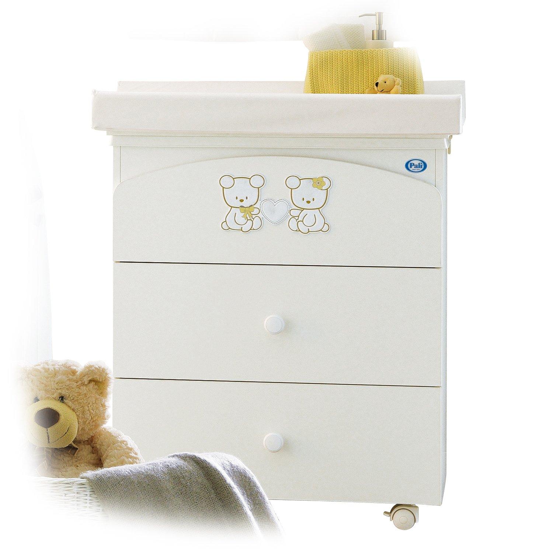 Pali Baby Wickeltisch mit Badewanne und Wickelauflage Maison Bebe günstig online kaufen