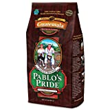 2LB Pablo's Pride Gourmet Coffee - Guatemala - Medium-Dark Roast Whole Bean Coffee - 2 Pound (2 lb) Bag (Color: Brown, Tamaño: 2 Pounds)