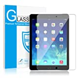 iPad 9.7 6th Generation (2018/2017) / ipad Air 2 / ipad Pro 9.7 / ipad Air Screen Protector, SMAPP Tempered Glass Screen Protector - Apple Pencil Compatible/Scratch Resistant/High Definition (Color: 9.7 1P, Tamaño: 9.7 1P)