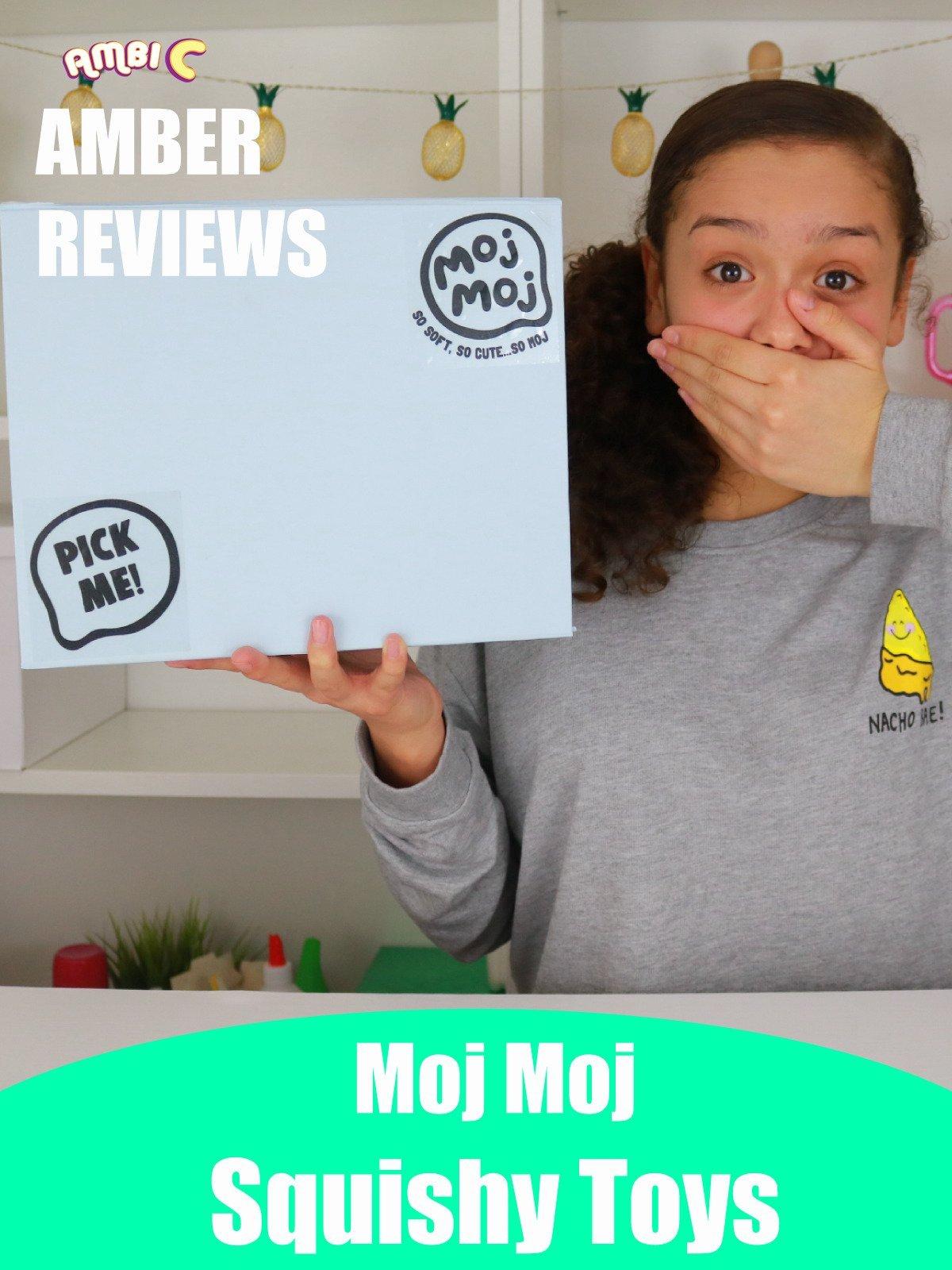 Amber Reviews Moj Moj Squishy Toys