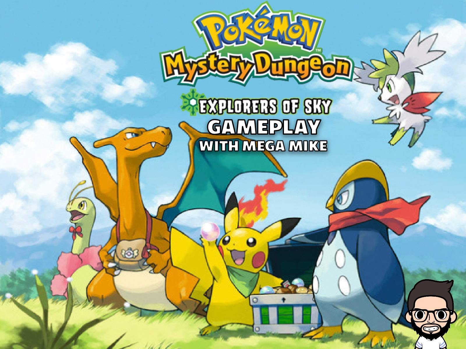 Pokemon Mystery Dungeon Explorers Of Sky Gameplay With Mega Mike on Amazon Prime Instant Video UK