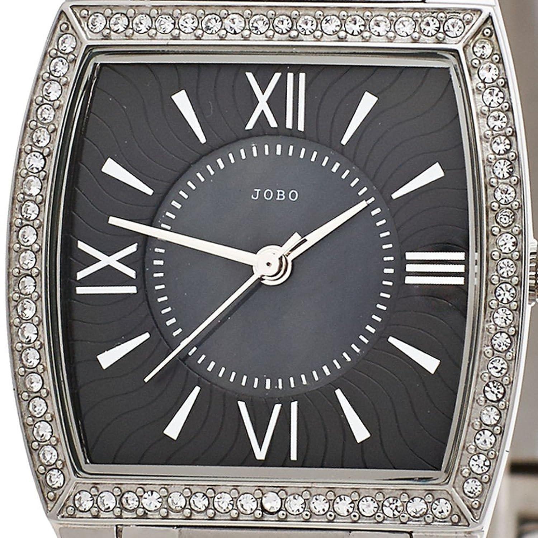 Damen-Armbanduhr Quarz Analog Edelstahl Mineralglas Kristall-Elements als Weihnachtsgeschenk kaufen