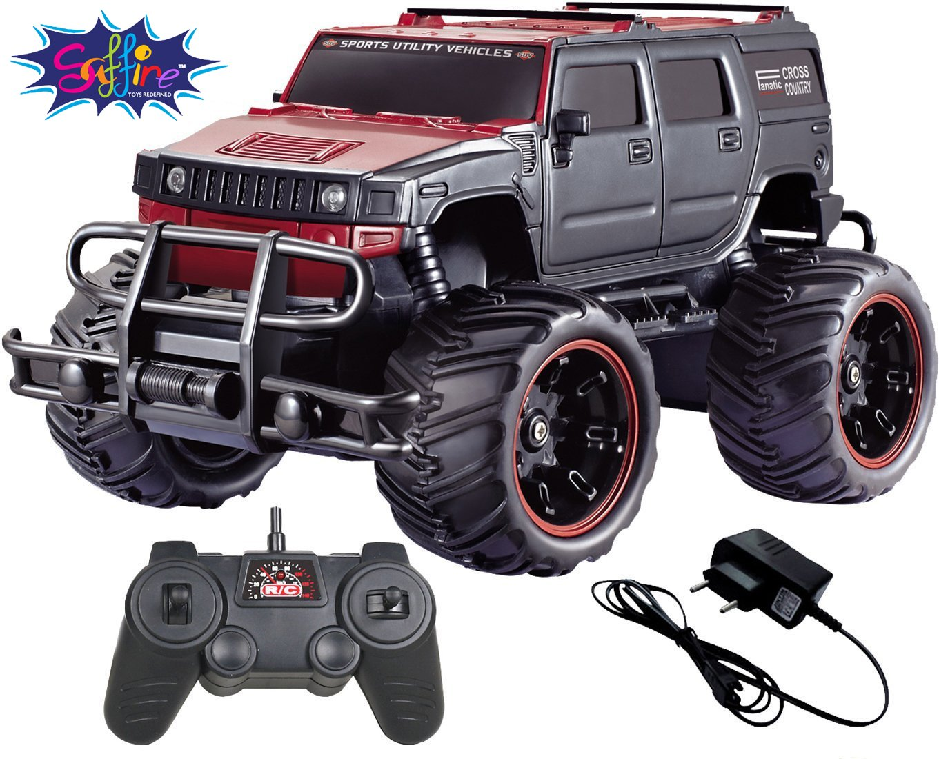 25% off Or More On Best Selling Toys By Amazon | Saffire Off-Road 1:20 Hummer Monster Racing Car @ Rs.799