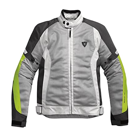 Rev it - Blouson - AIRWAVE JACKET - Couleur : Gris/Jaune - Taille : XL
