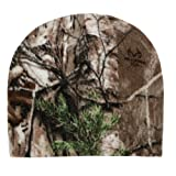 Camouflage Oil Realtree Mossyoak Winter Fleece Style Beanie Hat - REALTREE XTRA
