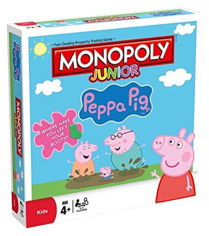 Peppa Pig Monopoly Junior anglais