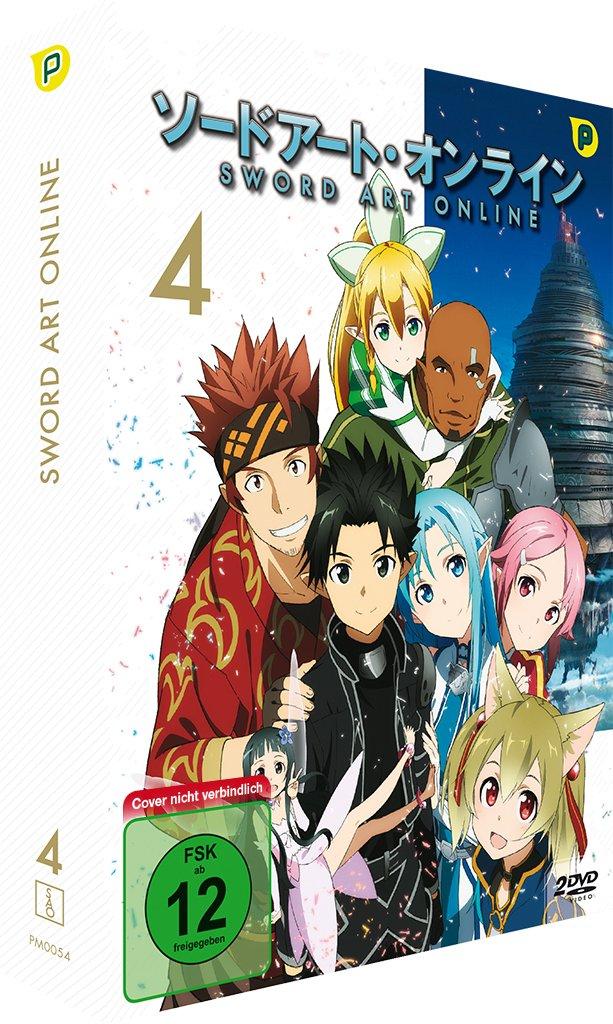 Sword Art Online, DVD