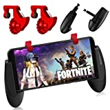 Pubg Mobile Controller - Sumyee Fortnite Mobile Game Controller,Sensitive Shoot and Aim L1R1 Mobile Trigger for Rules Of Survival Battle Royale (2 Triggers+1 Gamepad(R1)) (Color: 2 Triggers+1 Gamepad(R1))
