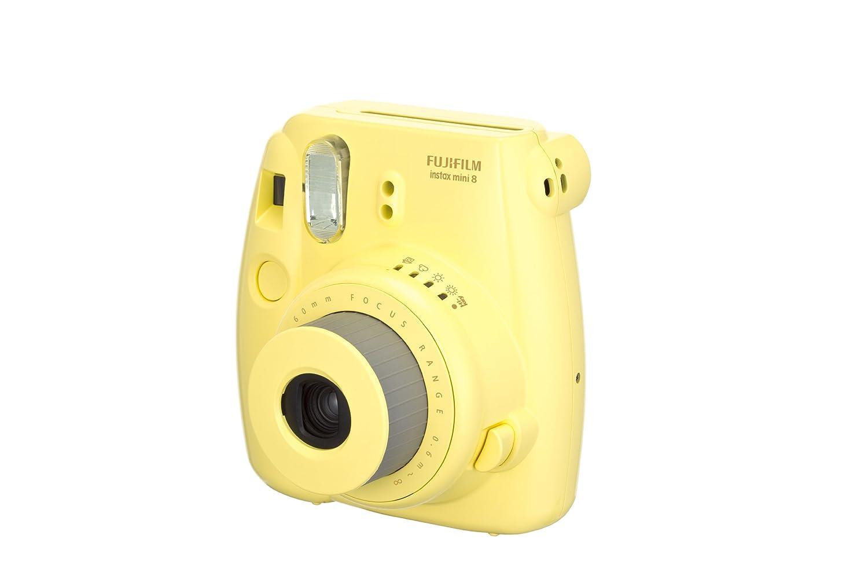 fujifilm instax mini 8 instant film camera yellow ebay. Black Bedroom Furniture Sets. Home Design Ideas