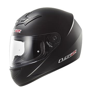 LS2 Helmets - Casque LS2 ROOKIE SOLID Noir Mat FF352 - Noir Mat - 2XL