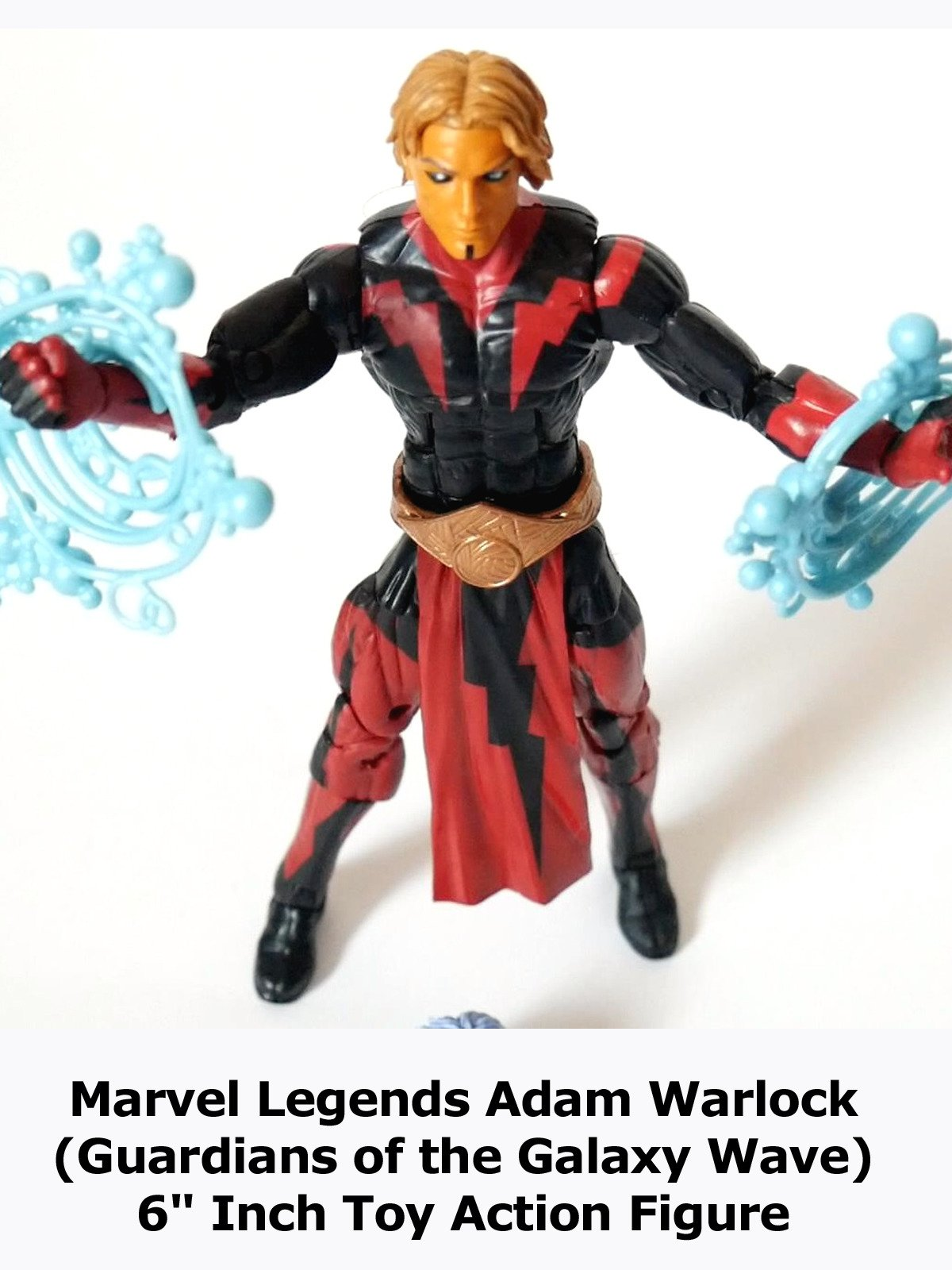 "Review: Marvel Legends Adam Warlock (Guardians of the Galaxy Wave) 6"" Inch Toy Action Figure"