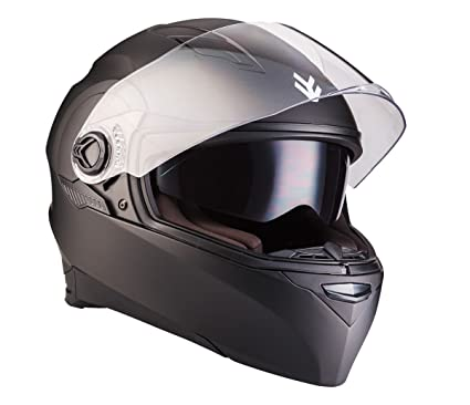 ARROW AF-77 matt black - noir modular moto casque dual sport urban scooter intégral moto-casque ECE certified - XS S M L XL XXL