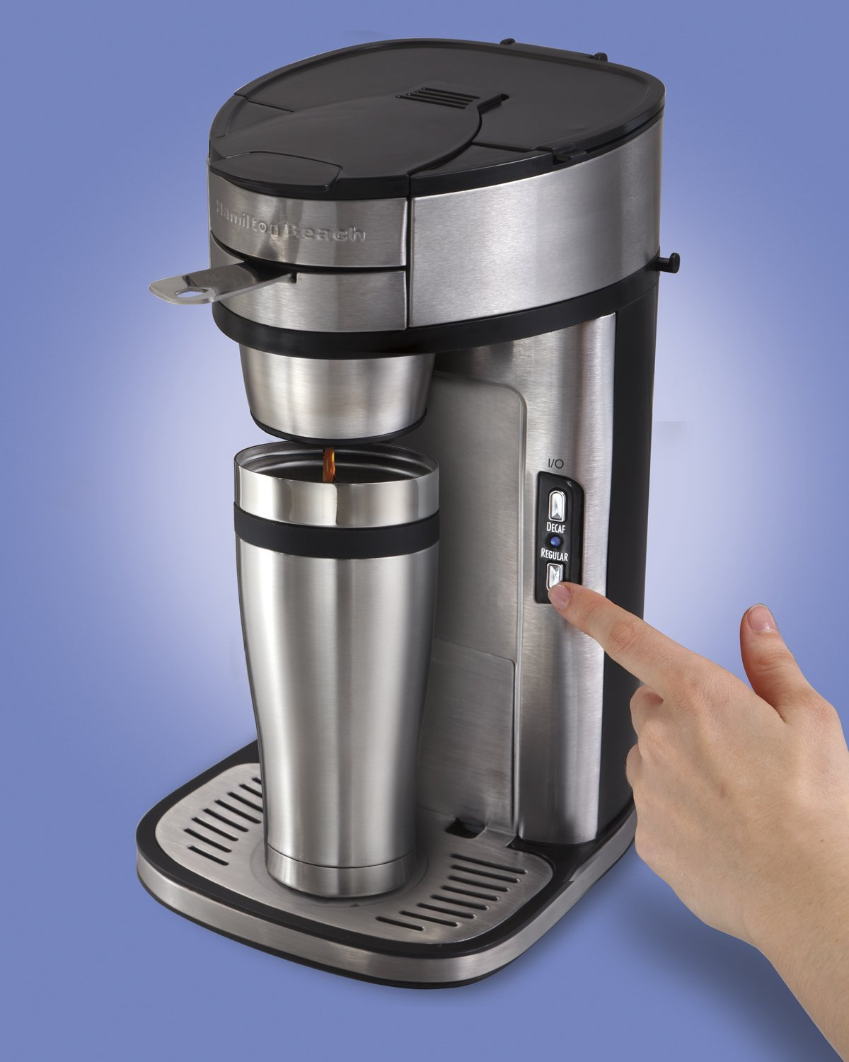 Flavia One Cup Coffee Maker : NEW! Fresh Coffee Maker 1 Cup Brewer by Hamilton Beach Fast Easy Clean Kitchen eBay