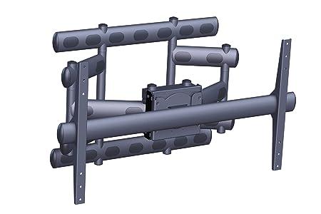 Vogels Scissor Arm Turn/Tilt/Rotate Universal Wall Mount for 80-90 inch LCD TV - Black