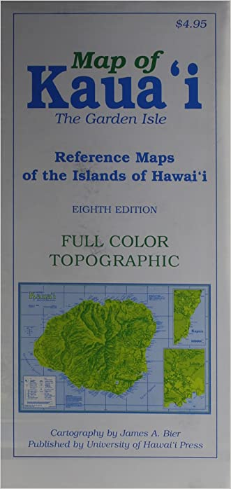 Map of Kauai the Garden Isle: Reference Maps of the Islands of Hawaii