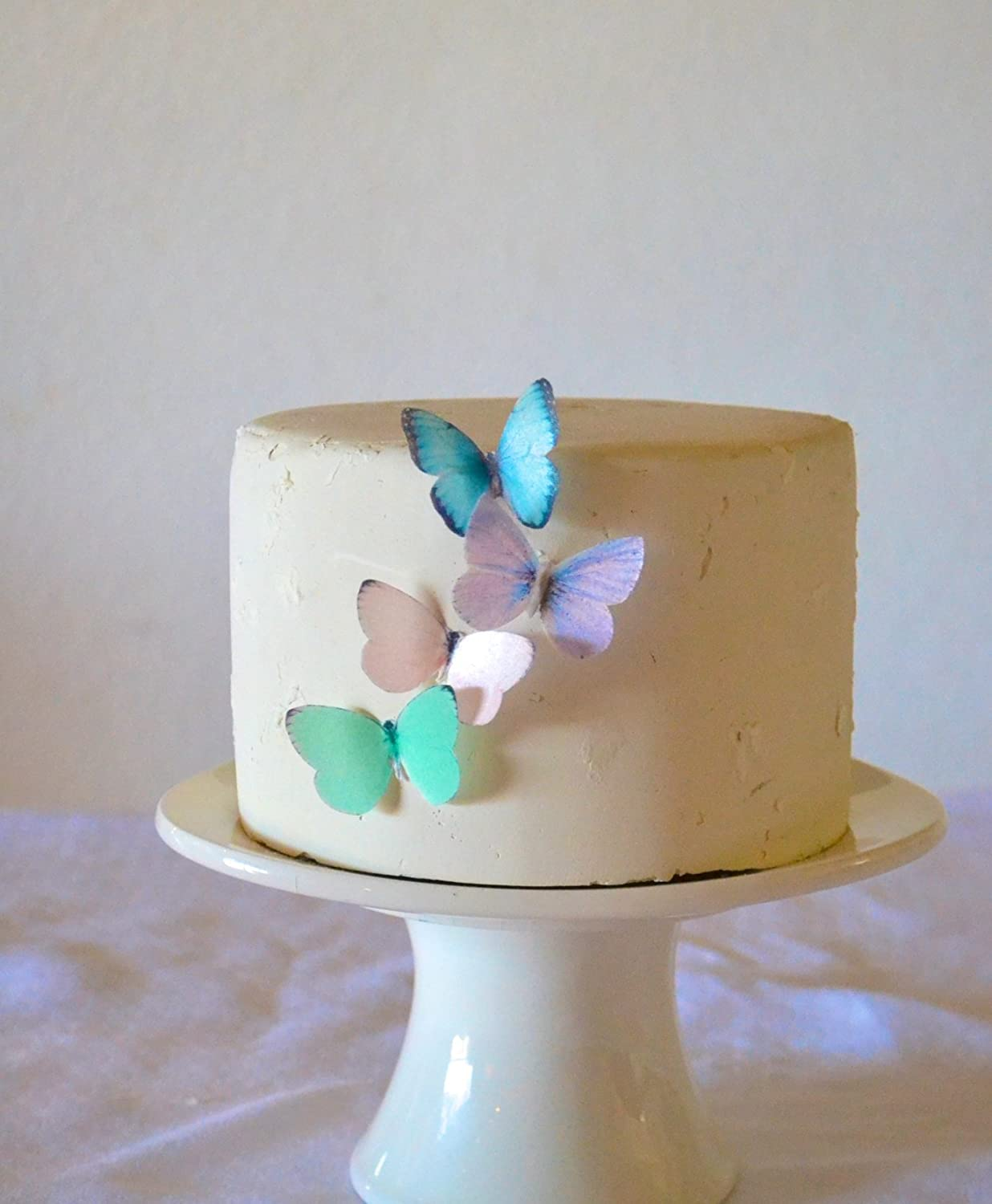 Girl Butterflies Baby Shower Cake Decorations Baby ...