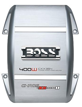 Boss Audio Systems CXX354 Caisson de basses Argent