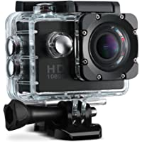 VicTsing 12MP 1080P HD+ 2.0 Inch Sports Action Camera with Long Battery Life
