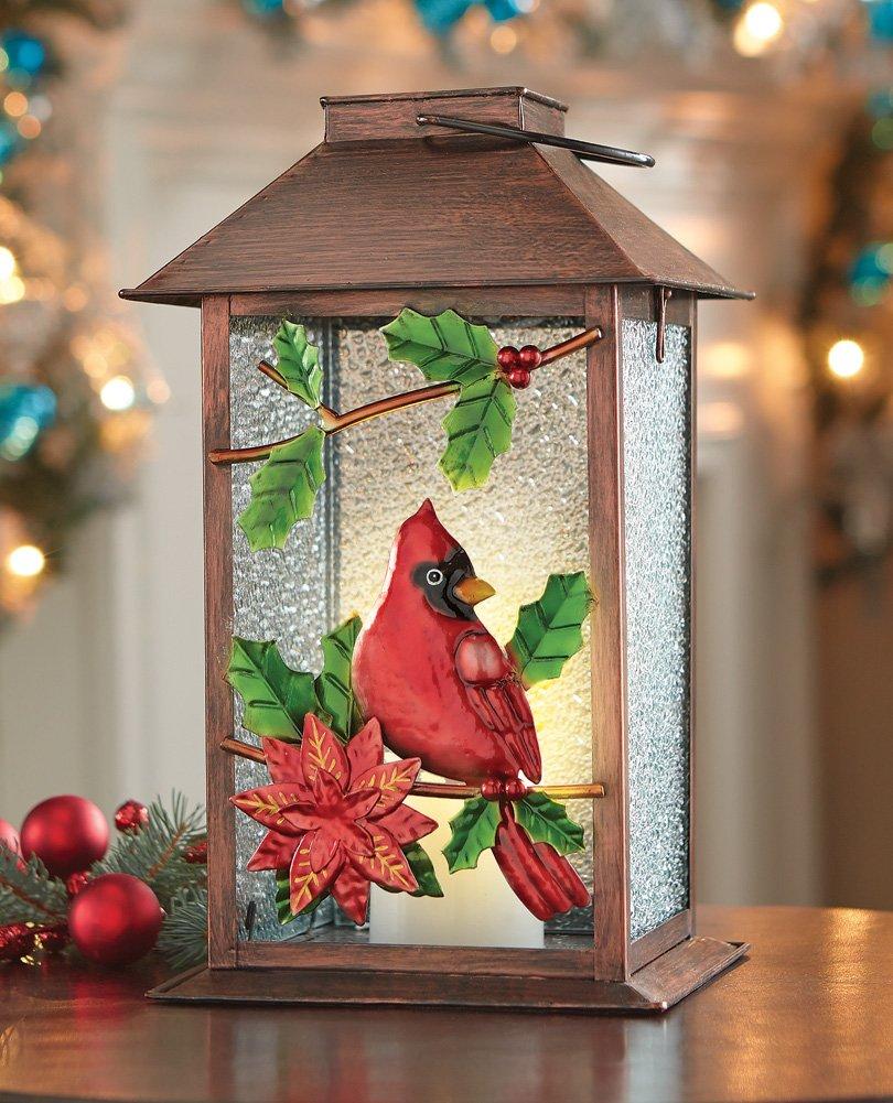 Cardinal Home Decor Christmas Cardinal Tabletop Lanterns Home Decorators Catalog Best Ideas of Home Decor and Design [homedecoratorscatalog.us]