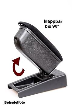 Mittelarmlehne Stoff Caddy 3 ab 2003 2K Armlehne Stoff schwarz