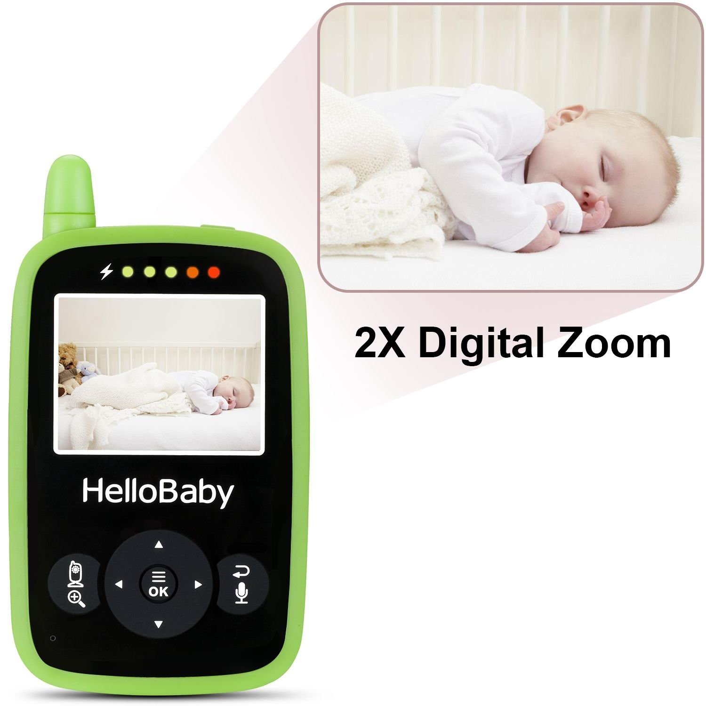 portable video baby monitor night vision smart camera with temperature monitors ebay. Black Bedroom Furniture Sets. Home Design Ideas