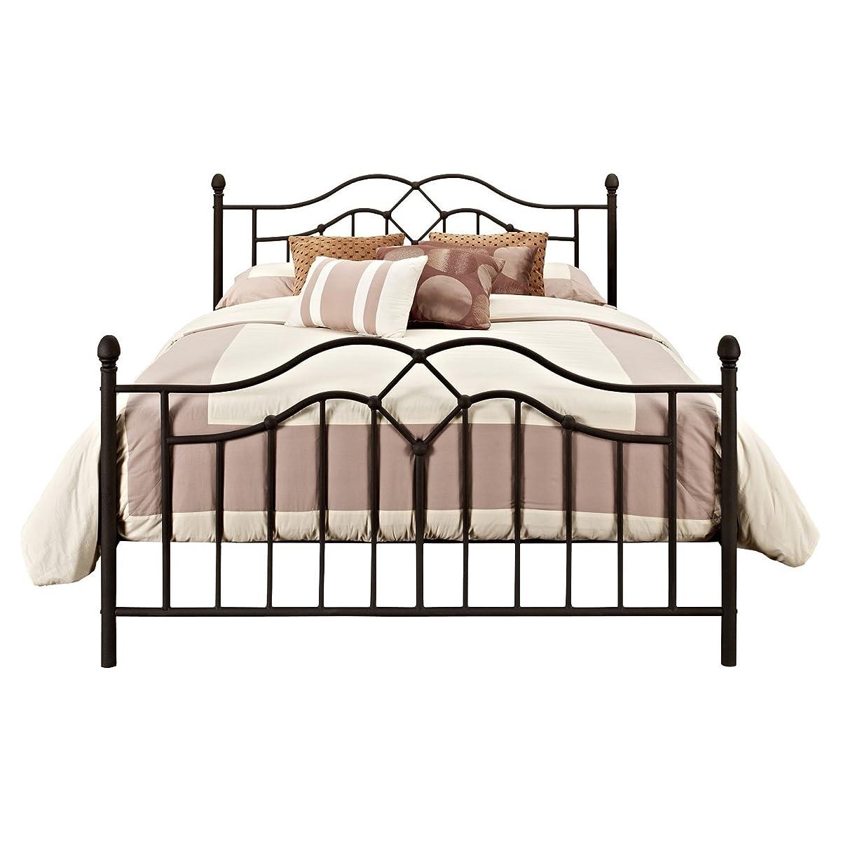 DHP Tokyo Bronze Metal Bed, Queen Size Bedframe