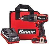 Bauer 64756 20V Hypermax Lithium 1/2 In. Hammer Drill Kit