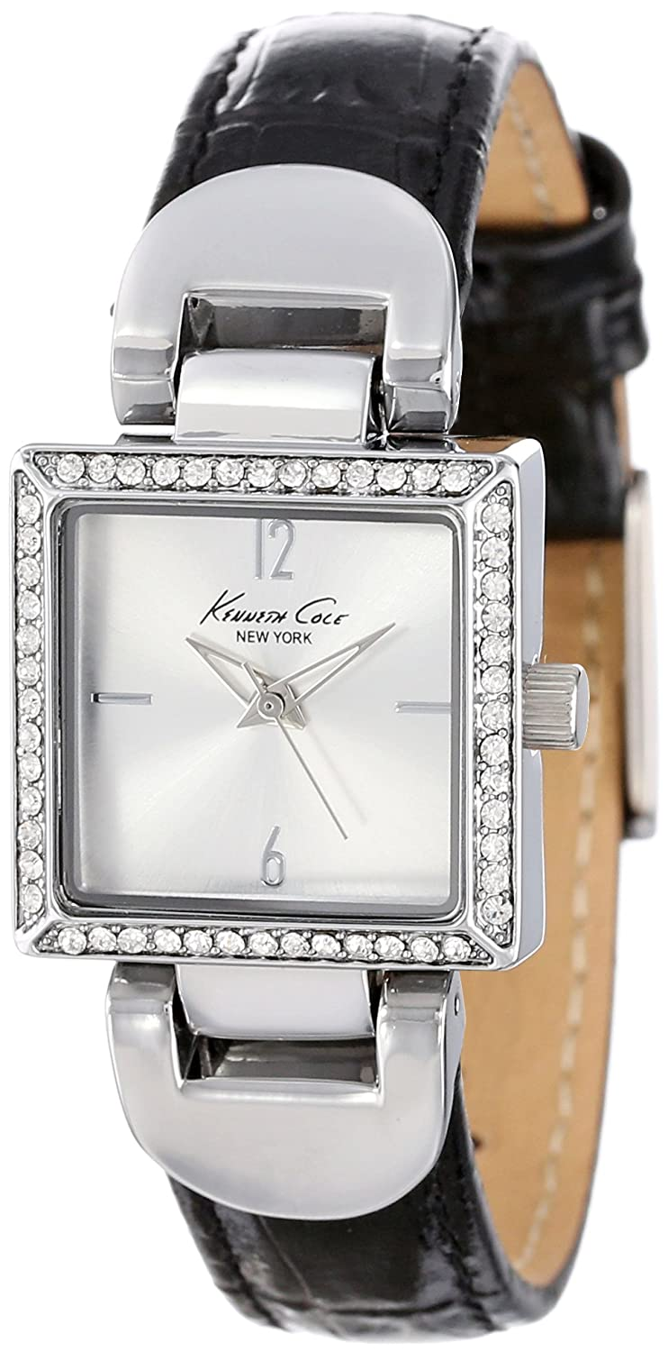 Kenneth Cole New York Women's KCW2016 Classic Stone Bezel Watch