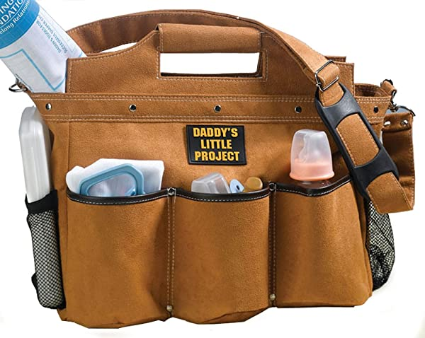Daddy Builder Diaper Bag by Lillian Rose