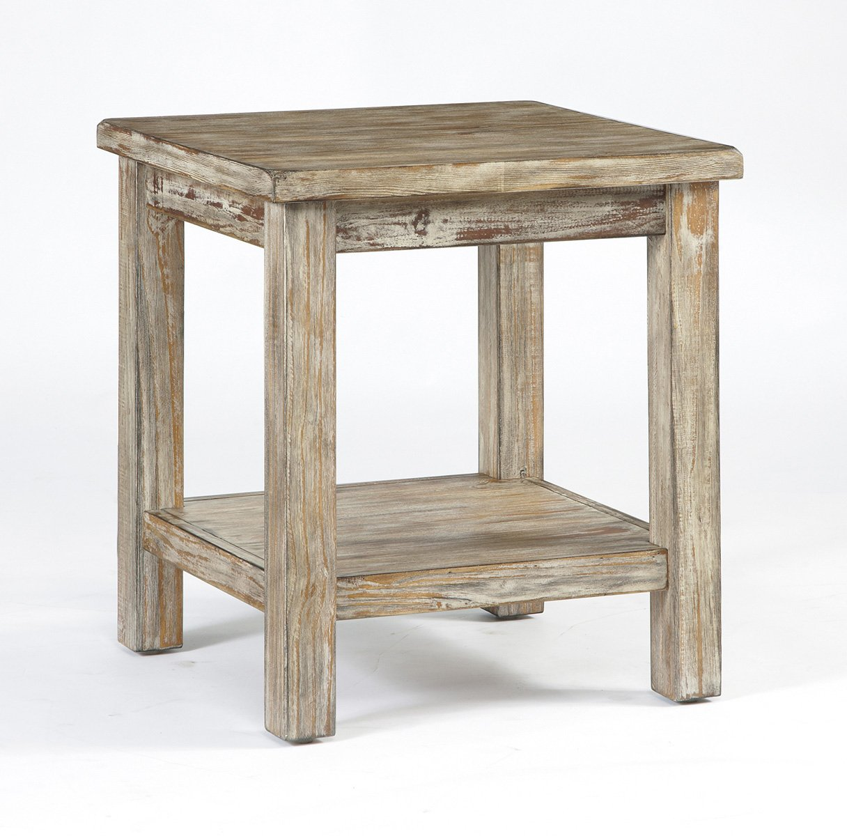 Ashley Furniture T500-302 Chair Side Vintage Rustic End Table 0
