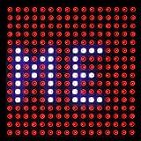 ACROBOTIC 16×16 Pixel Addressable 24-Bit RGB LED Matrix (Black PCB), 5V, WS2812B (WS2811), Includes 3-Pin JST-SM Wires Pair (Female/Male) (Color: 5050 RGB (Black PCB), Tamaño: 16×16)