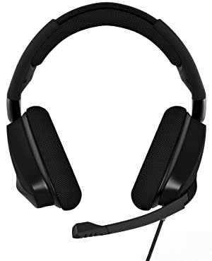 CORSAIR Void PRO Surround Gaming Headset - Dolby 7.1 Surround Sound Headphones for PC - Works with Xbox One, PS4, Nintendo Switch, iOS and Android - Carbon (Color: Carbon, Tamaño: Headset)