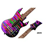Decal Sticker for Guitar Hero Live Guitar Controller - Drips