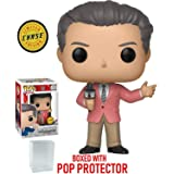 Funko Pop! WWE: Vince McMahon CHASE Variant Limited Edition Vinyl Figure (Bundled with Pop Box Protector Case)