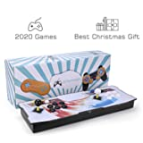 Spmywin 2020 HD Classic Acrade Games Pandoras Box 6 Arcade Video Game Console Unique System Customeried Buttons and Favourite List Function 1280x720 Full HD Advanced CPU Mini Arcade (Color: Pandora Box 6-rainbow)
