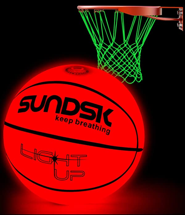 SCIONE Light Up Basketball Hoop Kit with LED Outdoor