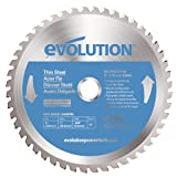 Evolution Power Tools 230BLADETS Thin Steel Cutting Blade, 9-Inch x 68-Tooth (Color: Blue, Tamaño: 9 Inch)