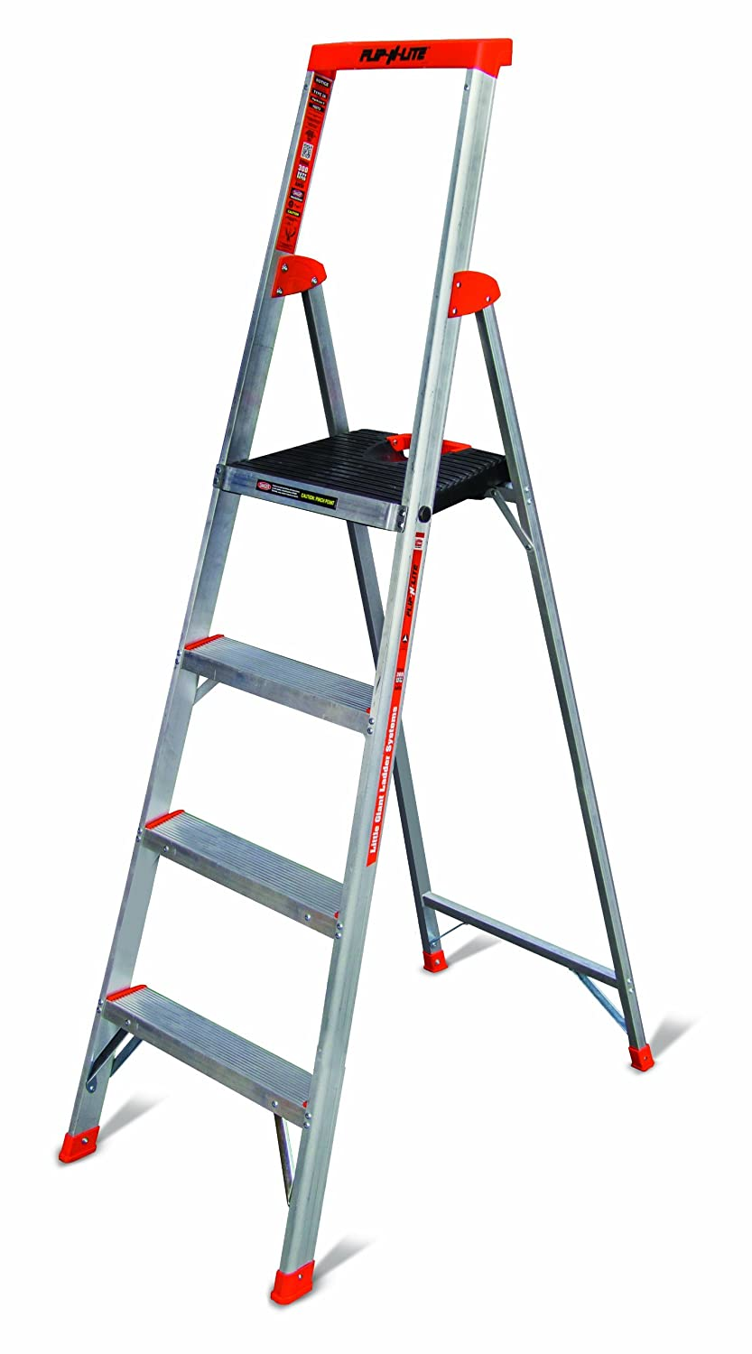 Flip N Lite 300 Pound Duty Rating Platform Stepladder 6