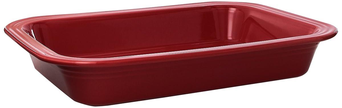 Fiesta 9-Inch by 13-Inch Lasagna Baker, Scarlet