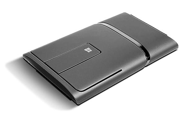Lenovo Dual Mode WL Bluetooth Touch Mouse N700, Black (888015450) (Color: Black)