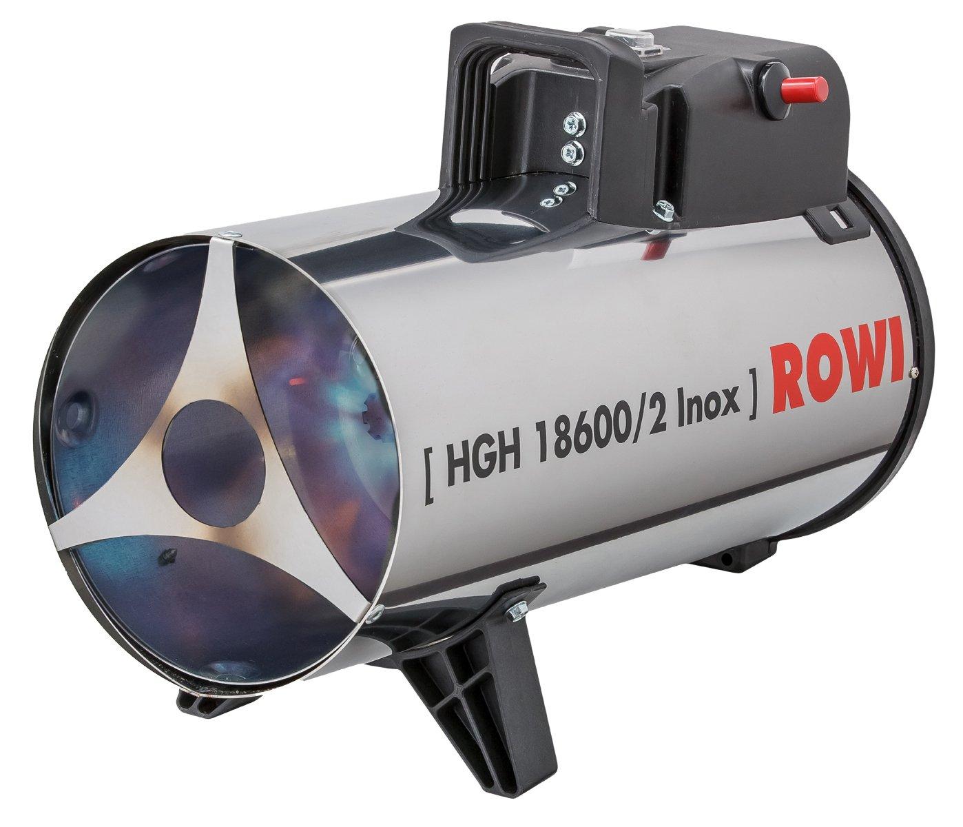 Rowi Gas Heizgebläse 18,6 kW, HGH 18600/2 Inox 1 03 02 0033  BaumarktÜberprüfung und weitere Informationen