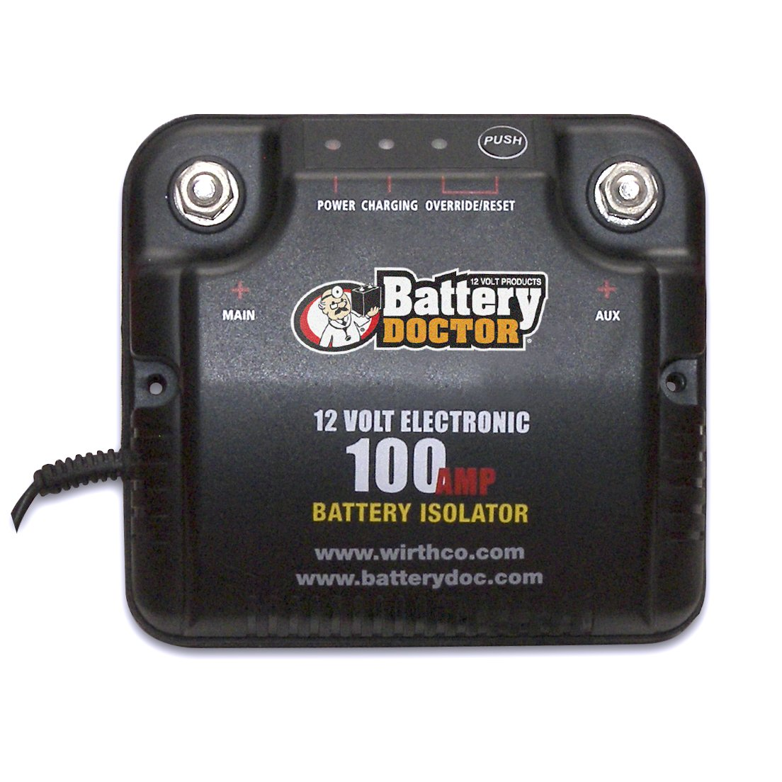 how to connect a battery isolator